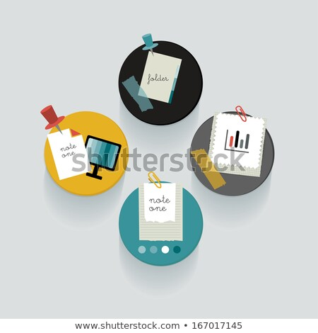 Blog dikkat pin kelime teknoloji web Stok fotoğraf © mscottparkin