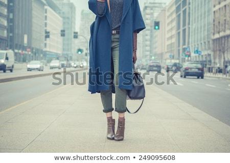 Mode stijl schoonheid modieus vrouw leggings Stockfoto © gromovataya
