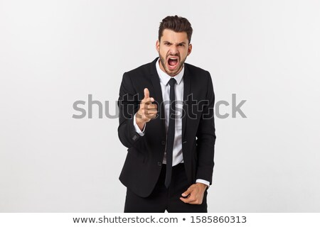 Man looking very angry Stock photo © photography33