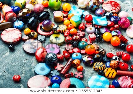 Big mix of beads  Stock photo © tannjuska