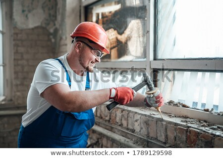 Man using a power tool Stock photo © photography33