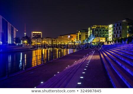rio · prédio · comercial · parlamento · Berlim · Alemanha · vidro - foto stock © elxeneize