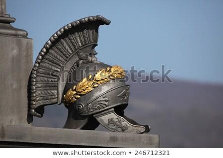 Roman military sculpture detail Stock photo © fxegs