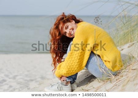 Dune sitting Stock photo © Undy