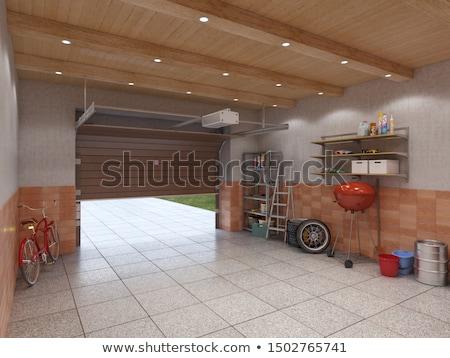 Storage Room Open And Empty Stock photo © albund