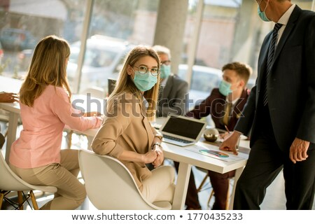 Business Group Protection Stock photo © Lightsource