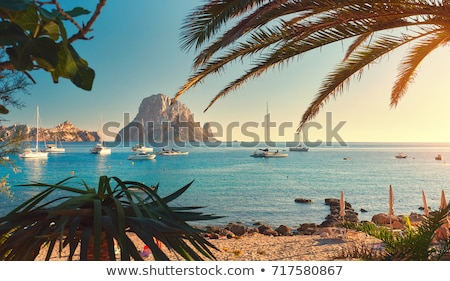 Mooie landschap berg middellandse zee Spanje Stockfoto © juniart