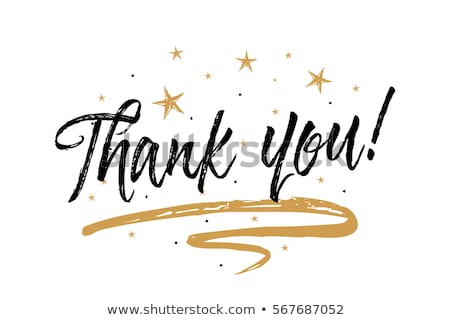 thank you handwriteing text stock photo © maxmitzu