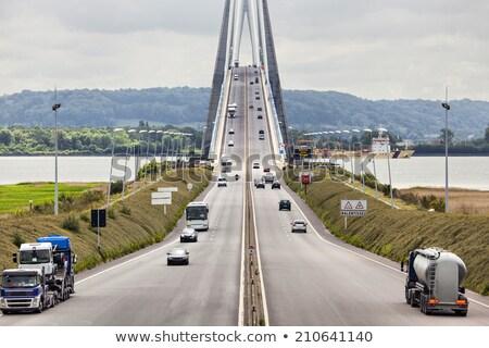 Bridge over river Seine Stock photo © smuki
