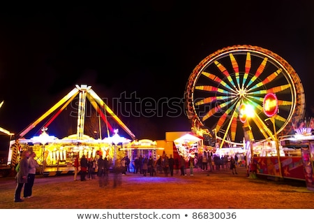 Fun Carnival at Night Stock photo © curaphotography
