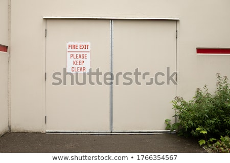 fire lane - do not block Stock photo © PixelsAway