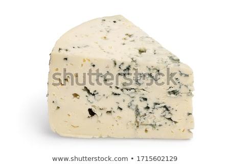 ブルーチーズ 孤立した 白 食品 表 チーズ ストックフォト © wjarek