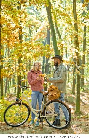 Really romantic couple having a good time Stock photo © racoolstudio
