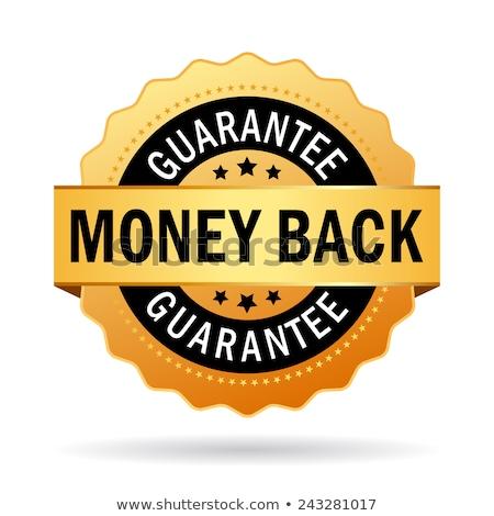 Money Back Gold Vector Icon Button Stock photo © rizwanali3d