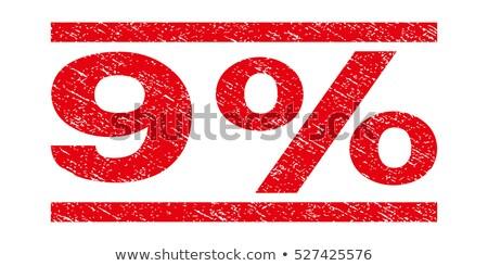 negen · postzegels · planeet · mensen · munten · harten - stockfoto © serebrov