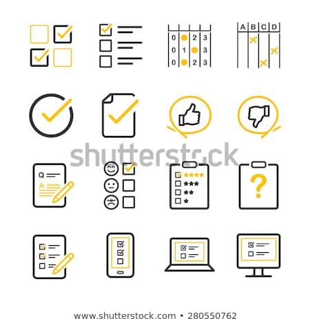 よくある質問 黄色 ベクトル アイコン デザイン ヘルプ ストックフォト © rizwanali3d
