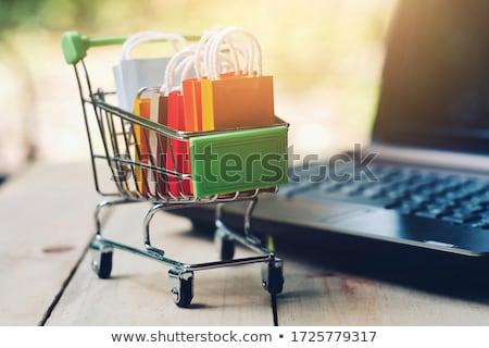 маркетинга управления электронной коммерции дизайна цифровой мегафон Сток-фото © robuart