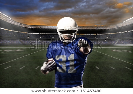 Mavi beyaz mutlu spor Stok fotoğraf © wavebreak_media