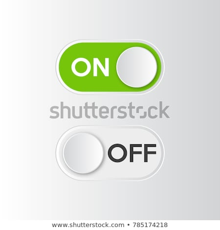 electronic equipment green vector button icon design set stock photo © rizwanali3d