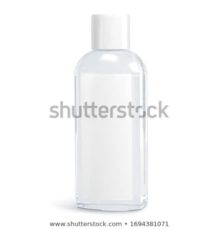 Foto d'archivio: Plastica · bottiglie · sapone · shampoo · latte · bottiglia