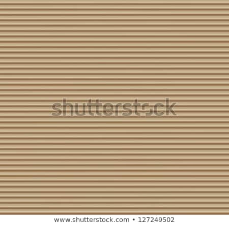 vector illustration with ornate frame on cardboard texture Stock photo © maximmmmum