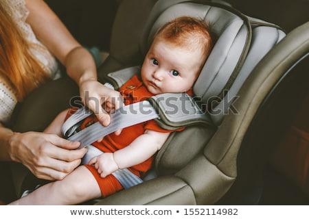 kind · zitting · zuigeling · auto - stockfoto © paha_l