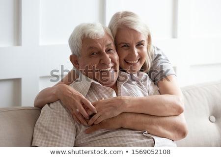Senior adult male with friendly smile Stock photo © ozgur