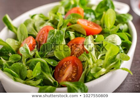 Lamb's lettuce and tomato Stock photo © Digifoodstock