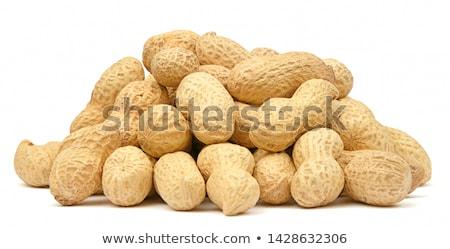 Amendoins branco amarelo nozes Foto stock © filipw