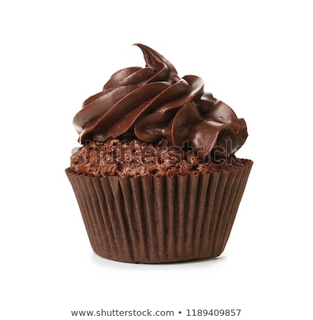 chocolate cupcake stock photo © m-studio