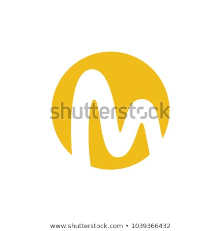 A letter M for moon Stock photo © bluering