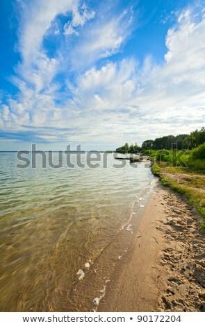 Roeiboot rivier wal wilg Italiaans meer Stockfoto © t3mujin