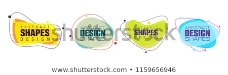 Circular abstract design stock photo © sdCrea