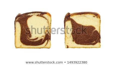 rum · cake · plakje · vanille · vla - stockfoto © digifoodstock