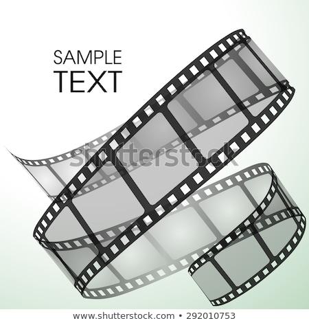 3D · 映画 · ロール · 色 · 白 - ストックフォト © sarts