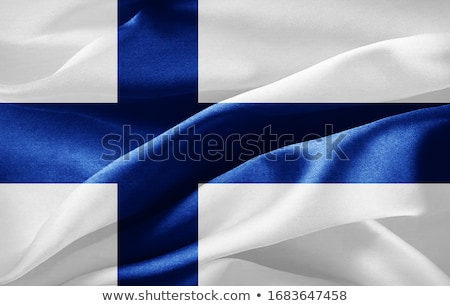 Euros símbolo bandera Finlandia 3d signo Foto stock © drizzd
