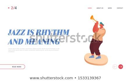 man · spelen · cello · baard · vector - stockfoto © rastudio