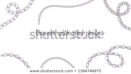Dizayn Filmi kart mücevherleri kroki takı Stok fotoğraf © robuart