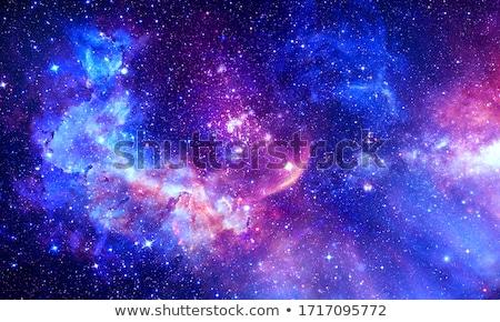 Galáxia imagem profundo espaço sol abstrato Foto stock © magann