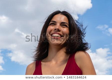 Kobiet uśmiechnięty shot lata bikini Zdjęcia stock © IS2