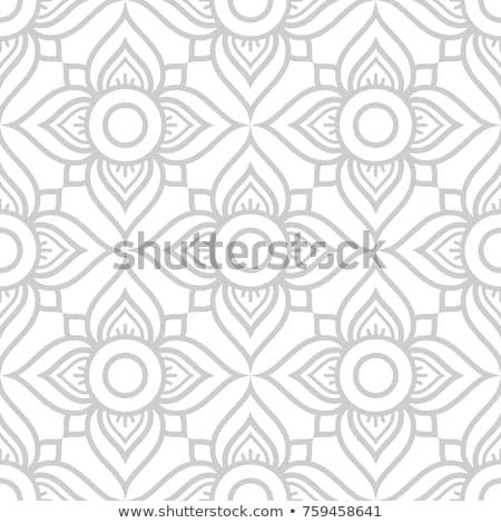 タイ 花 シームレス ベクトル パターン 黒 ストックフォト © RedKoala