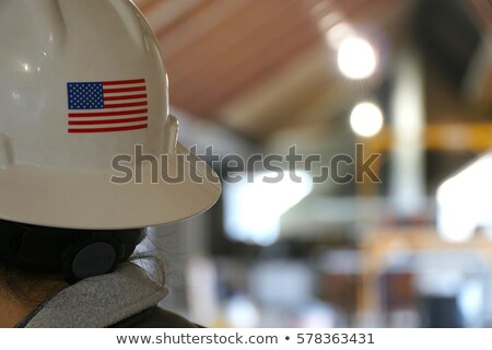 woman with tools and hard hat stock photo © is2