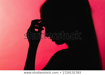 Fraqueza médico vermelho turva texto pílulas Foto stock © tashatuvango