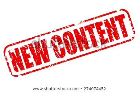 New Content Button. Stock photo © tashatuvango