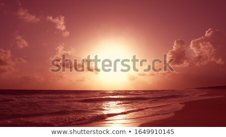 daybreak sea and sunlight path Stock photo © wildman