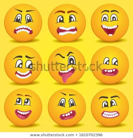 Pretty Happy Pretty Mad ストックフォト © studioworkstock