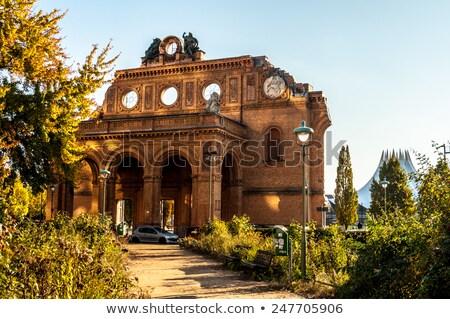 Anhalter Bahnhof in Berlin Stock photo © benkrut