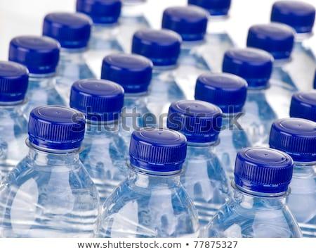 Plastik şişe su yalıtılmış beyaz arka plan Stok fotoğraf © Cipariss