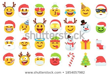 Gift emoticon Stock photo © yayayoyo