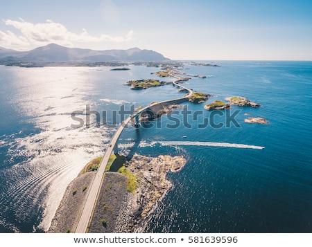 Atlantic Ocean Road Norway Stock photo © cookelma